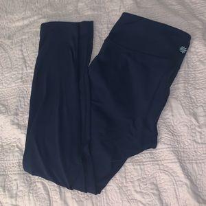 Athleta Navy blue Leggings